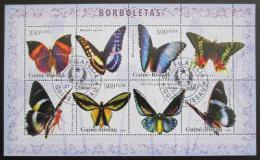 Poštovní známky Poštovní známky Guinea-Bissau 2006 Motýli Mi# 3386-89