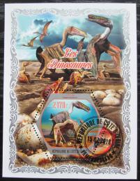 Poštovní známka Pobøeží Slonoviny 2018 Dinosauøi Mi# N/N