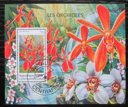Poštovní známka SAR 2018 Orchideje Mi# Block 1712 Kat 16€