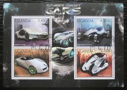 Poštovní známky Uganda 2012 Automobily budoucnosti Mi# 2911-14 Kat 13€