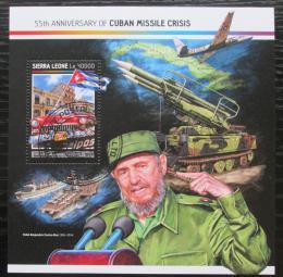 Poštovní známka Sierra Leone 2017 Kubánská krize, 55. výroèí Mi# 8205-08 Kat 11€