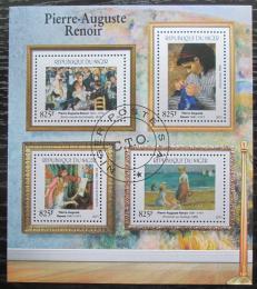 Poštovní známky Niger 2015 Umìní, Pierre-Auguste Renoir Mi# 3702-06 Kat 24€