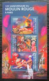 Poštovní známky SAR 2015 Moulin Rouge, 125. výroèí Mi# 5300-02 Kat 16€