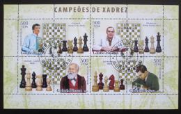 Poštovní známky Guinea-Bissau 2006 Svìtoví šachisti Mi# 3450-53 Kat 8€