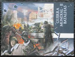 Poštovní známka Guinea-Bissau 2012 Druhá svìtová válka Mi# Block 1105 Kat 12€