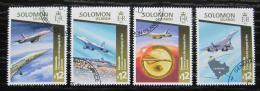 Poštovní známky Šalamounovy ostrovy 2015 Pád Concorde Mi# 3072-75 Kat 17€