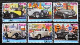 Poštovní známky Džibutsko 2015 Historické automobily Mi# N/N