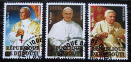 Poštovní známky Džibutsko 2014 Papeži církve øímské Mi# N/N