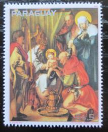 Poštovní známka Paraguay 1982 Umìní, Albrecht Dürer Mi# 3574