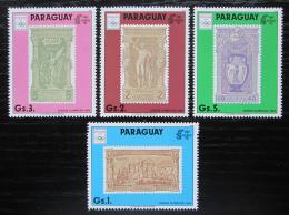 Poštovní známky Paraguay 1990 LOH Barcelona Mi# 4445-48 Kat 6€