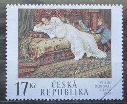 Poštovní známka Èeská republika 2002 Umìní, Vlaho Bukovac Mi# 318