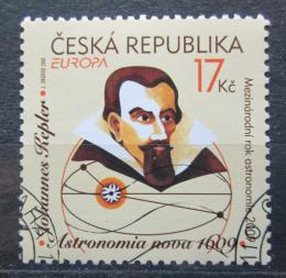 Poštovní známka Èeská republika 2009 Evropa CEPT, Johannes Kepler Mi# 595