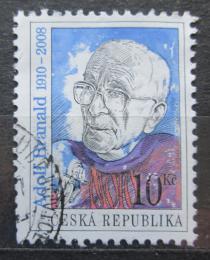 Poštovní známka Èeská republika 2010 Adolf Branald, spisovatel Mi# 652