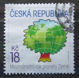 Poštovní známka Èeská republika 2008 Mezinárodní rok planety Zemì Mi# 545