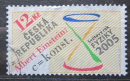 Poštovní známka Èeská republika 2005 Svìtový rok fyziky Mi# 436