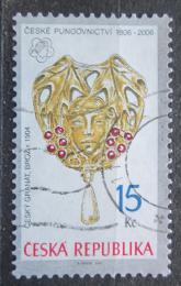 Poštovní známka Èeská republika 2006 Brož Mi# 481