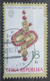 Poštovní známka Èeská republika 2006 Závìs z èeského granátu Mi# 482