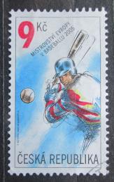 Poštovní známka Èeská republika 2005 ME v baseballu Mi# 442