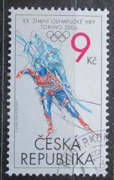Poštovní známka Èeská republika 2006 ZOH Turín Mi# 459