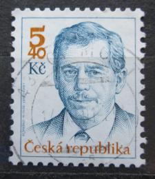 Poštovní známka Èeská republika 2000 Prezident Václav Havel Mi# 247