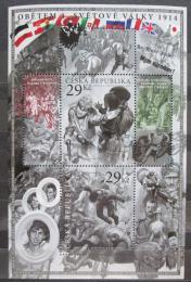 Poštovní známky Èeská republika 2014 Obìtem I. svìtové války Mi# Block 54