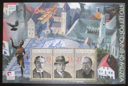 Poštovní známky Èeská republika 2018 Poštovní muzeum, 100. výroèí Mi# Block 71