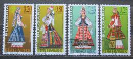 Poštovní známky Bulharsko 2005 Lidové kroje Mi# 4719-22