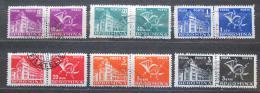 Poštovní známky Rumunsko 1957 Doplatní Mi# 101-06