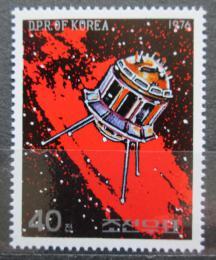 Poštovní známka KLDR 1976 Telekomunikaèní družice Mi# 1497