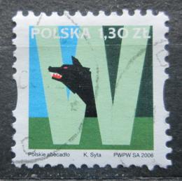 Poštovní známka Polsko 2006 Abeceda - W Mi# 4280