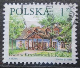 Poštovní známka Polsko 1999 Hostinec Mi# 3773