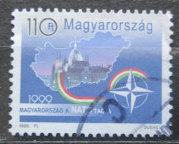 Poštovní známka Maïarsko 1999 Vstup do NATO Mi# 4528