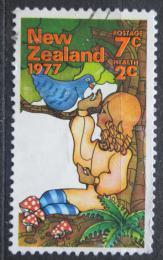 Poštovní známka Nový Zéland 1977 Dívka s holubem Mi# 720
