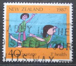 Poštovní známka Nový Zéland 1987 Dìtská kresba Mi# 1001