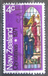Poštovní známka Nový Zéland 1971 Vánoce, umìní Mi# 566