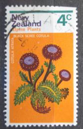 Poštovní známka Nový Zéland 1972 Cotula atrata Mi# 584