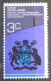 Poštovní známka Nový Zéland 1972 Mìstský znak Wanganui Mi# 579