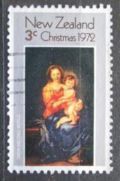 Poštovní známka Nový Zéland 1972 Vánoce, umìní, Murillo Mi# 590
