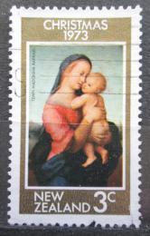 Poštovní známka Nový Zéland 1973 Vánoce, umìní, Raffael Mi# 613