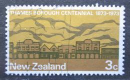Poštovní známka Nový Zéland 1973 Thames, 100. výroèí Mi# 597