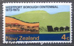 Poštovní známka Nový Zéland 1973 Westport, 100. výroèí Mi# 598