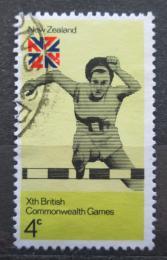 Poštovní známka Nový Zéland 1974 Hry postižených Mi# 620