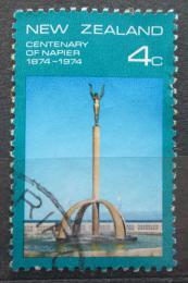 Poštovní známka Nový Zéland 1974 Kašna Spirit of Napier Mi# 630
