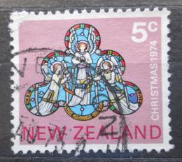 Poštovní známka Nový Zéland 1974 Vánoce, umìní Mi# 641