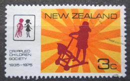 Poštovní známka Nový Zéland 1975 Spoleènost pro postižené dìti Mi# 647