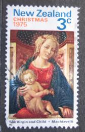 Poštovní známka Nový Zéland 1975 Vánoce, umìní, Zanobi Machiavelli Mi# 664