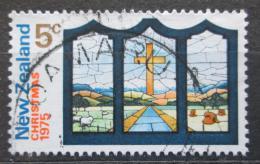 Poštovní známka Nový Zéland 1975 Vánoce, umìní Mi# 665