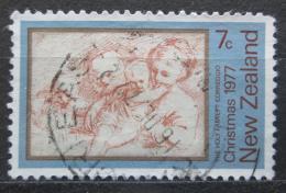 Poštovní známka Nový Zéland 1977 Vánoce, umìní, Correggio Mi# 728
