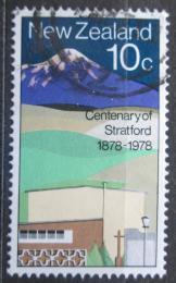 Poštovní známka Nový Zéland 1978 Stratford a Mount Egmont Mi# 736