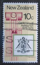 Poštovní známka Nový Zéland 1978 Ashburton, 100. výroèí Mi# 737